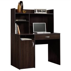 Desk with Hutch in Cinnamon Cherry