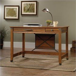 Sauder Carson Forge Writing Desk in Washington Cherry