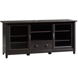Sauder Edge Water TV Stand in Estate Black