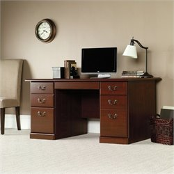 Sauder Heritage Hill Computer Desk in Classic Cherry