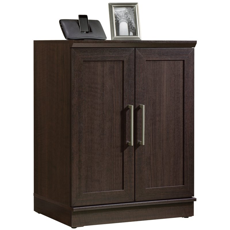 Sauder Homeplus Base Cabinet in Dakota Oak