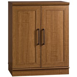 Sauder Homeplus Base Cabinet in Sienna Oak Finish