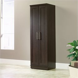Sauder Homeplus Storage Cabinet in Dakota Oak