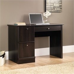 Sauder Select Computer Desk with Keyboard Tray in Cinnamon Cherry
