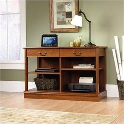 Sauder Select Smartcenter Console Table in Shaker Cherry