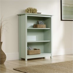 Sauder Original Cottage 3 Shelf Bookcase in Rainwater