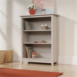 Sauder Original Cottage 3 Shelf Bookcase in Cobblestone