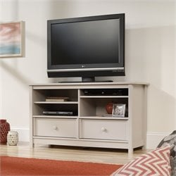 Sauder Original Cottage TV Stand in Cobblestone