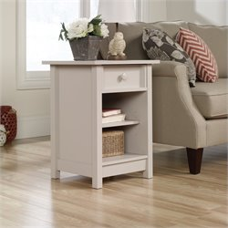 Sauder Original Cottage Side Table in Cobblestone Finish