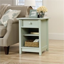 Sauder Original Cottage Side Table in Rainwater