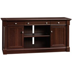 Sauder Palladia Credenza in Select Cherry
