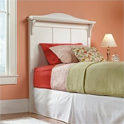 Sauder Pogo Twin Panel Headboard in White