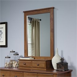 Sauder Shoal Creek Mirror in Oiled Oak