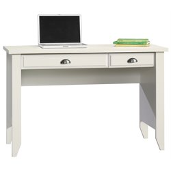 Sauder Shoal Creek Computer Desk in Soft White