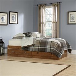 Sauder Shoal Creek Mates Bed in Oiled Oak