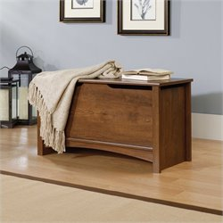 Sauder Shoal Creek Storage Chest in Oiled Oak