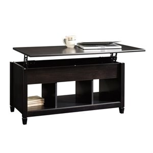 Lift Top Coffee Table in Estate Black