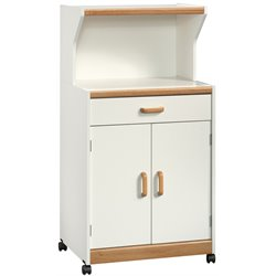 Sauder Universal Oven Cart in Soft White
