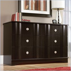 Sauder Embassy Point Dresser in Wind Oak