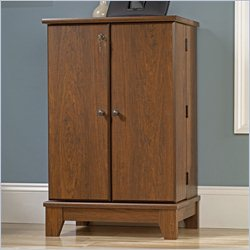 Sauder Camarin Multimedia Storage Cabinet in Milled Cherry