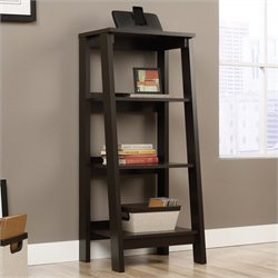 Sauder Trestle Bookcase in Jamocha Wood