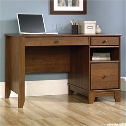 Sauder Camarin Computer Desk in Milled Cherry