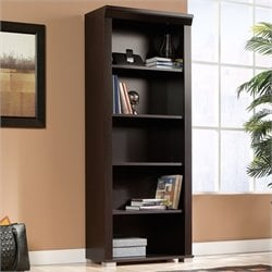 Sauder Town Bookcase in Jamocha Wood
