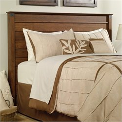 Sauder Carson Forge Full Queen Panel Headboard in Cherry