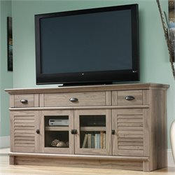 Sauder Harbor View Credenza in Salt Oak