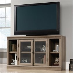 Sauder Barrister Lane Entertainment Credenza in Salt Oak