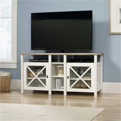 TV Stand in Soft White