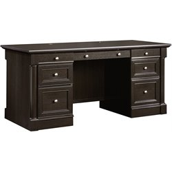 Sauder Avenue Eight Executive Desk in Wind Oak