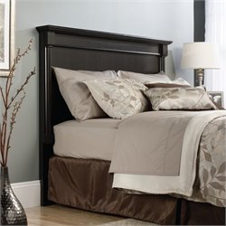 Sauder Avenue Eight Queen Headboard in Wind Oak