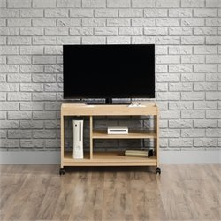 Sauder Square1 TV Cart in Urban Ash