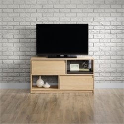 Sauder Square1 TV Stand in Urban Ash