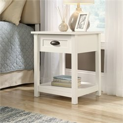 Sauder County Line Nightstand in Soft White