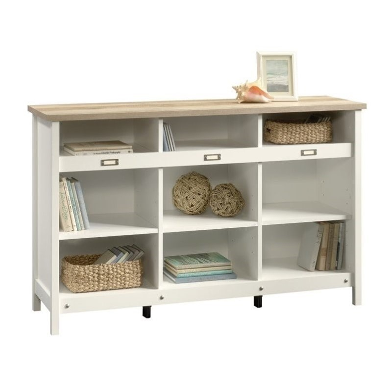 Adept 9 Cubby Storage Unit in Soft White