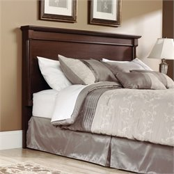 Sauder Palladia King Headboard in Select Cherry
