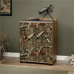 Sauder Flat Creek 2 Door Chest in Scribed Oak