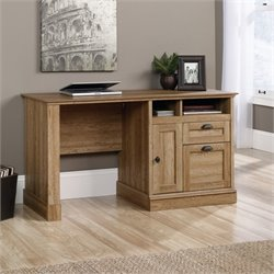 Sauder Barrister Lane Computer Desk in Scribed Oak