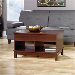 Sauder Kendall Lift Top Coffee Table in Cherry