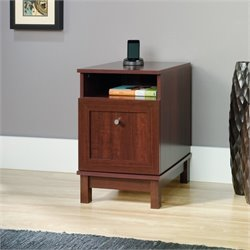 Sauder Kendall End Table in Cherry