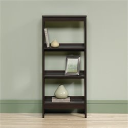 Sauder Beginnings 3 Shelf Storage Unit in Cinnamon Cherry