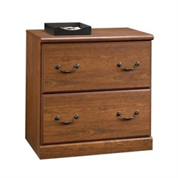 2 Drawer File Cabinet in Milled Cherry