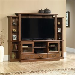 Sauder Orchard Hills Entertainment Center in Milled Cherry