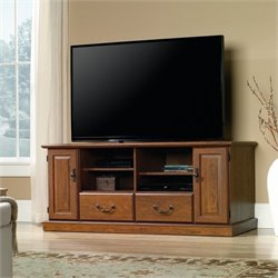 Sauder Orchard Hills TV Stand in Milled Cherry