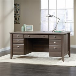 Executive Desk in Diamond Ash