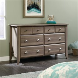 8 Drawer Dresser in Diamond Ash