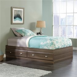 Sauder Shoal Creek Twin Mates Bed in Diamond Ash