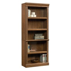 Sauder Orchard Hills 5 Shelf Bookcase in Milled Cherry